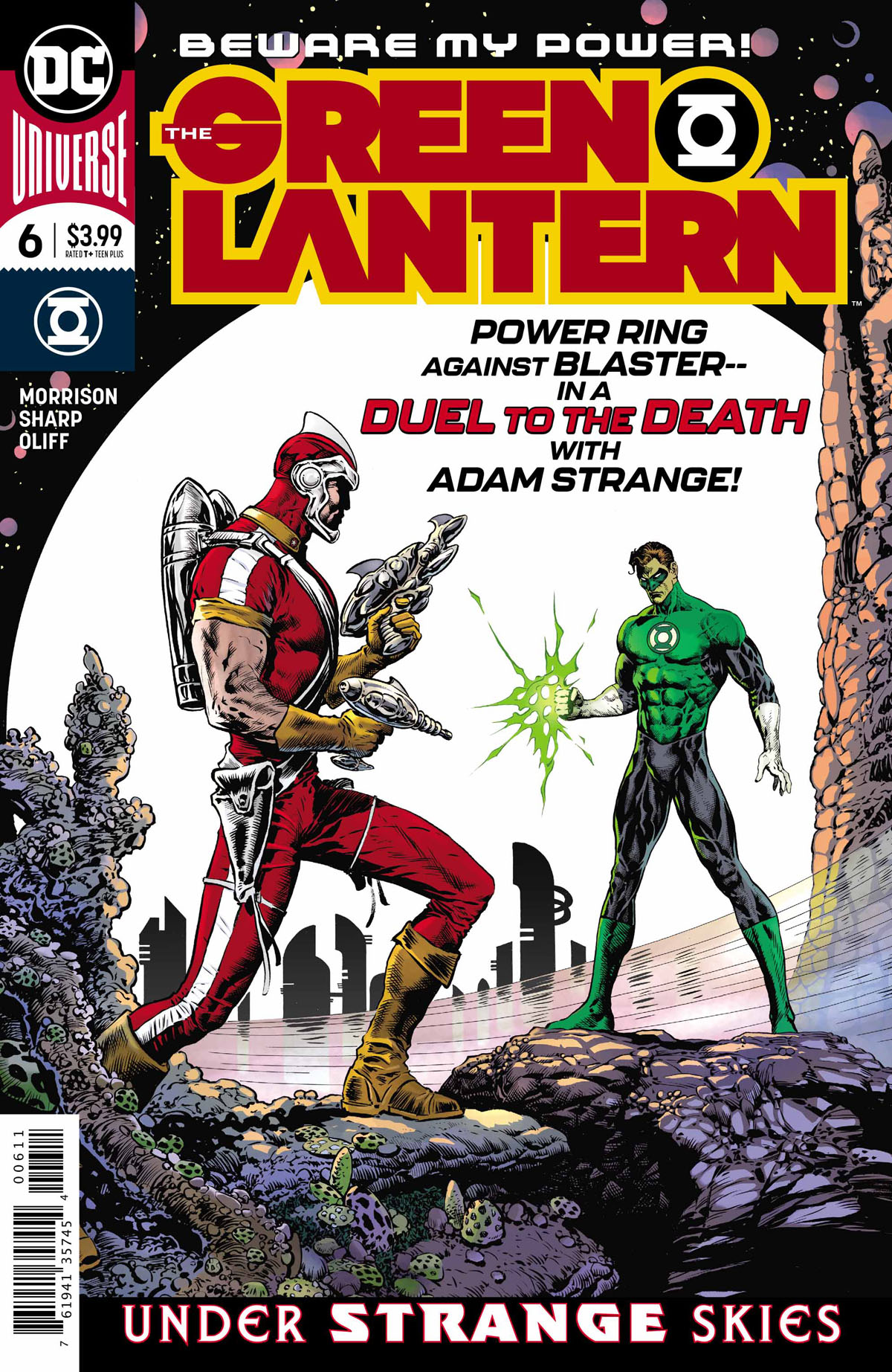 The Green Lantern #6 cover