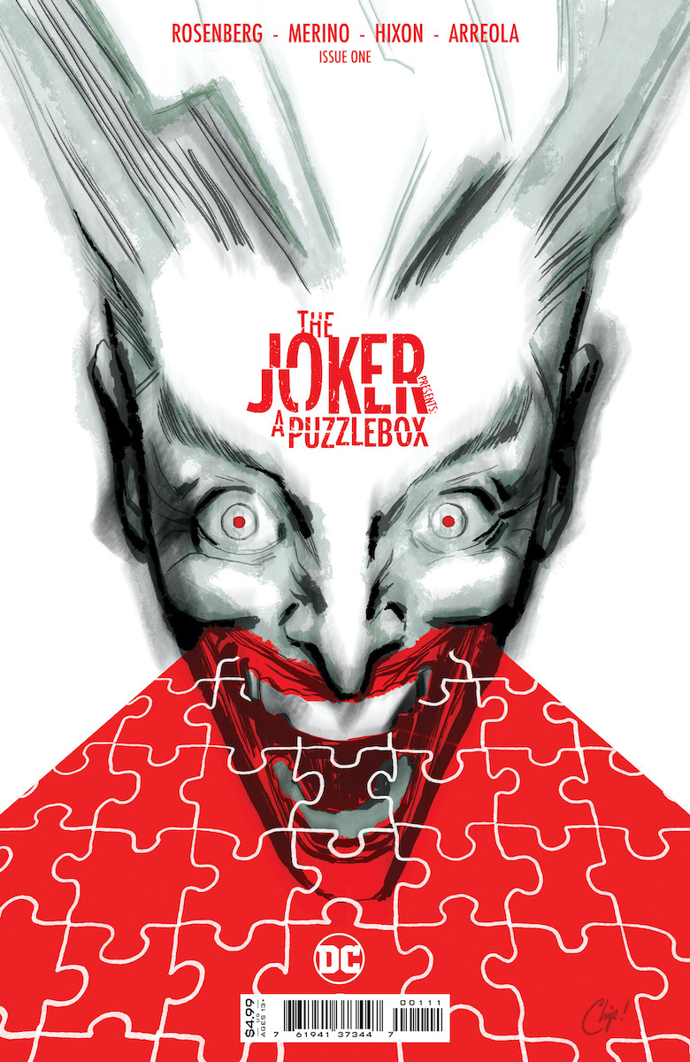 The Joker Presents: A Puzzlebox #1 Cover by Chip Zdarsky