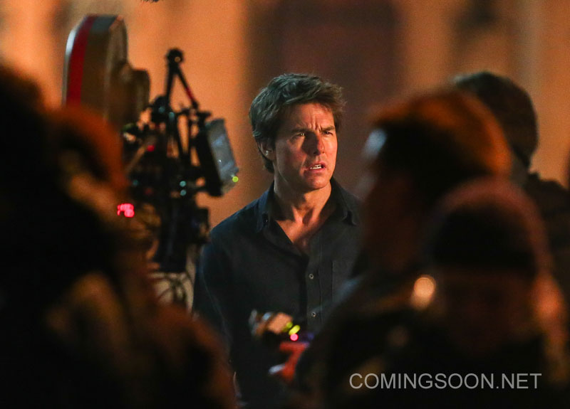 Tom Cruise behind the Camera