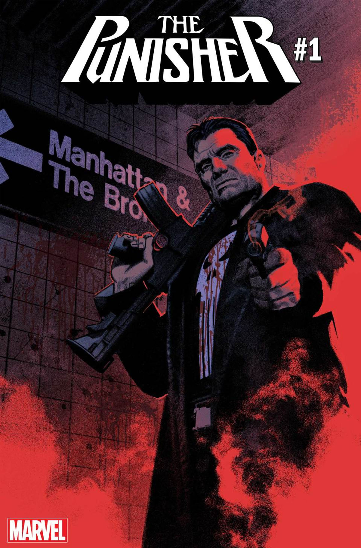 The Punisher #1 cover