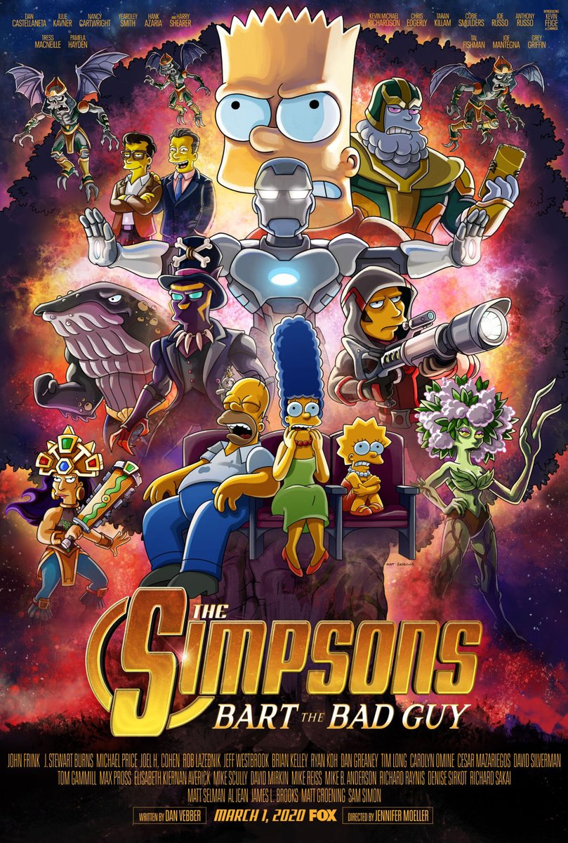 The Simpsons: Bart the Bad Guy Poster