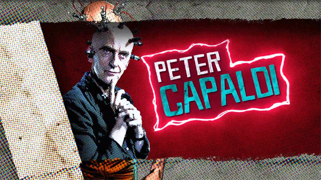 Peter Capaldi as The Thinker