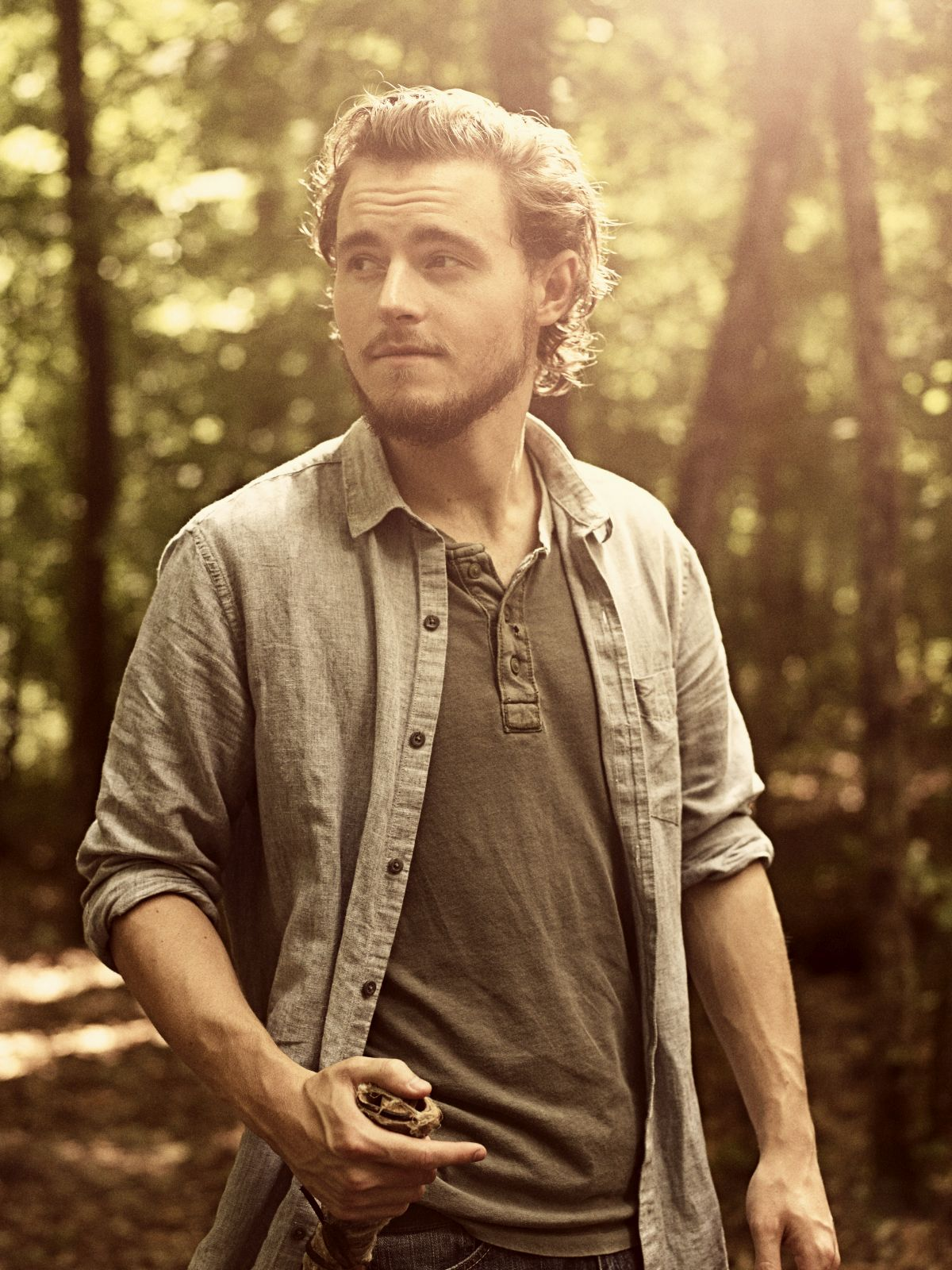 Callan McAuliffe as Alden - The Walking Dead _ Season 9, Gallery- Photo Credit: Victoria Will/AMC