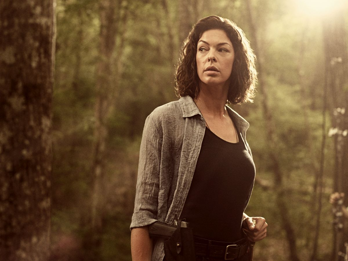 Pollyanna McIntosh as Jadis/Anne - The Walking Dead _ Season 9, Gallery- Photo Credit: Victoria Will/AMC