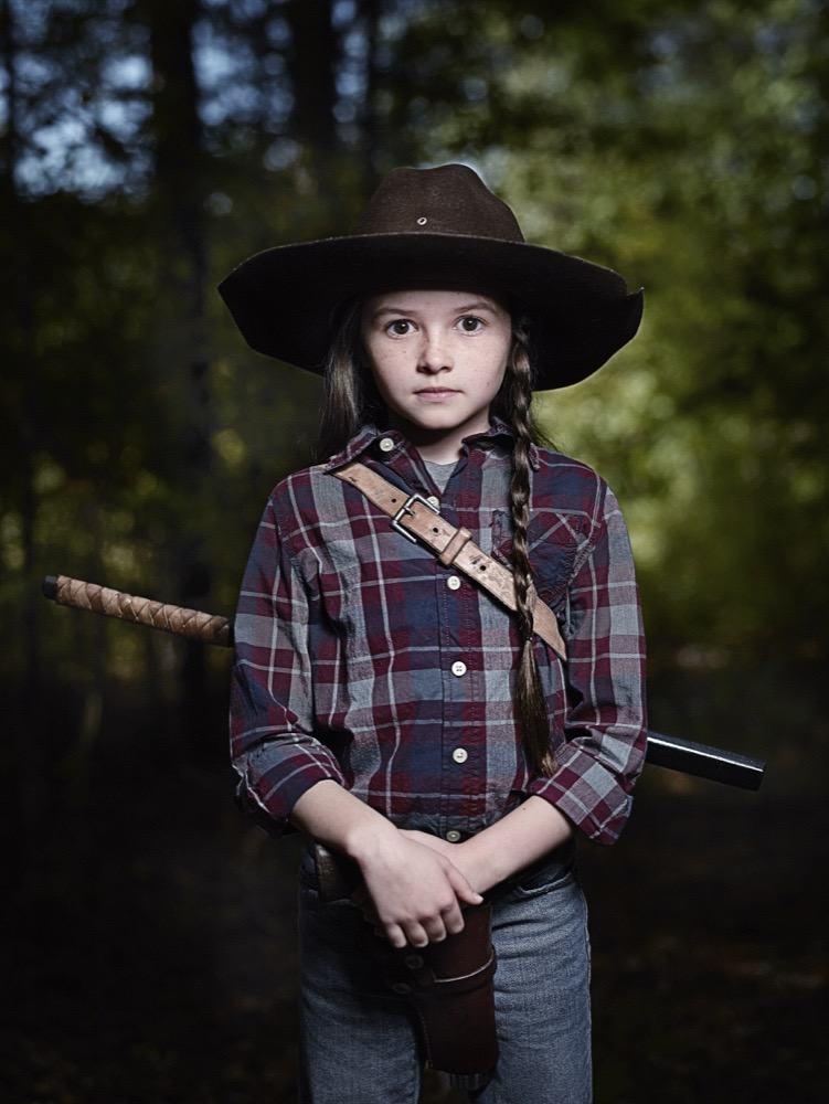 Cailey Fleming as Judith- The Walking Dead _ Season 9, Gallery - Photo Credit: Michael Muller/AMC