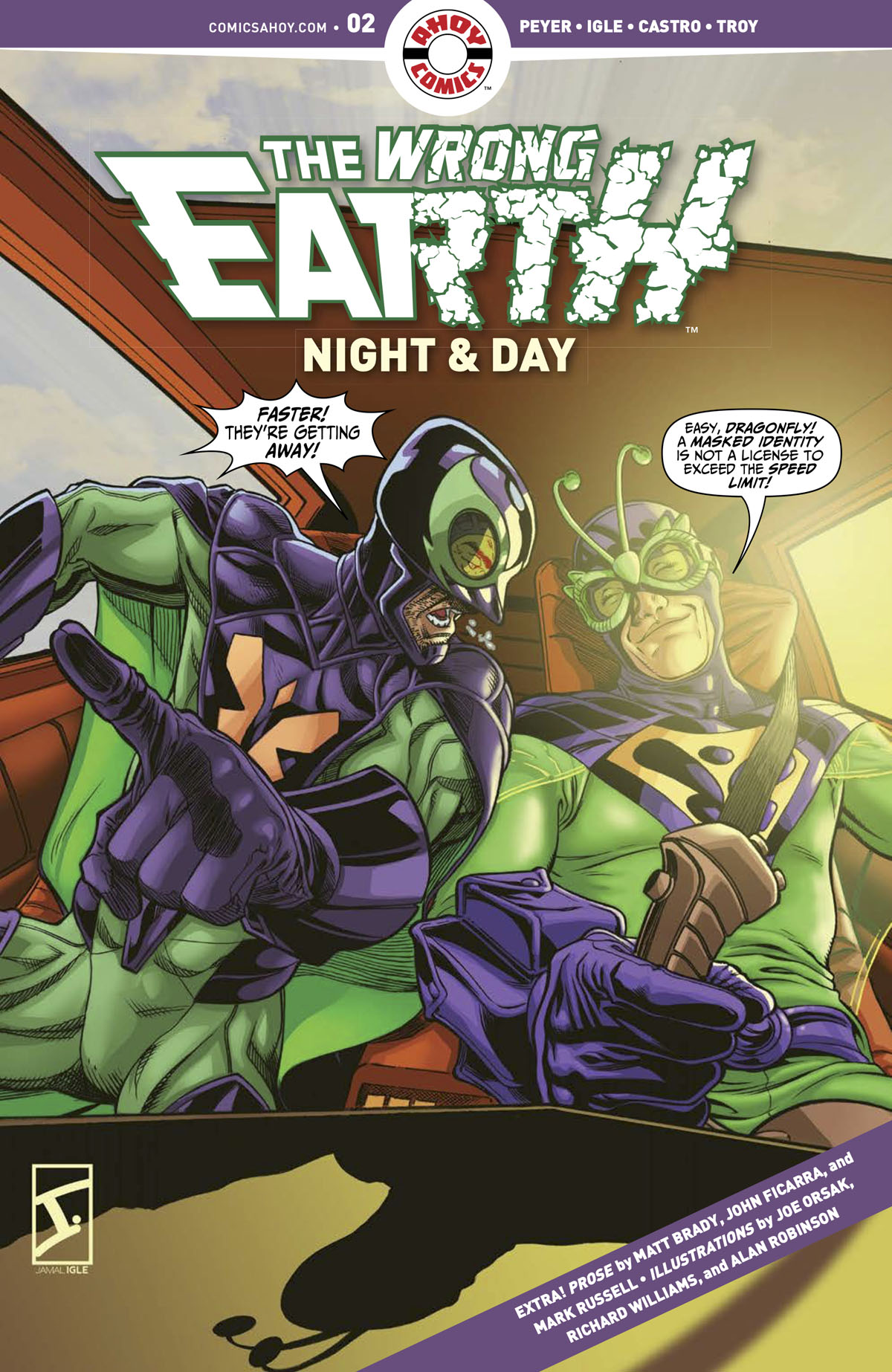 The Wrong Earth: Night & Day #2 cover