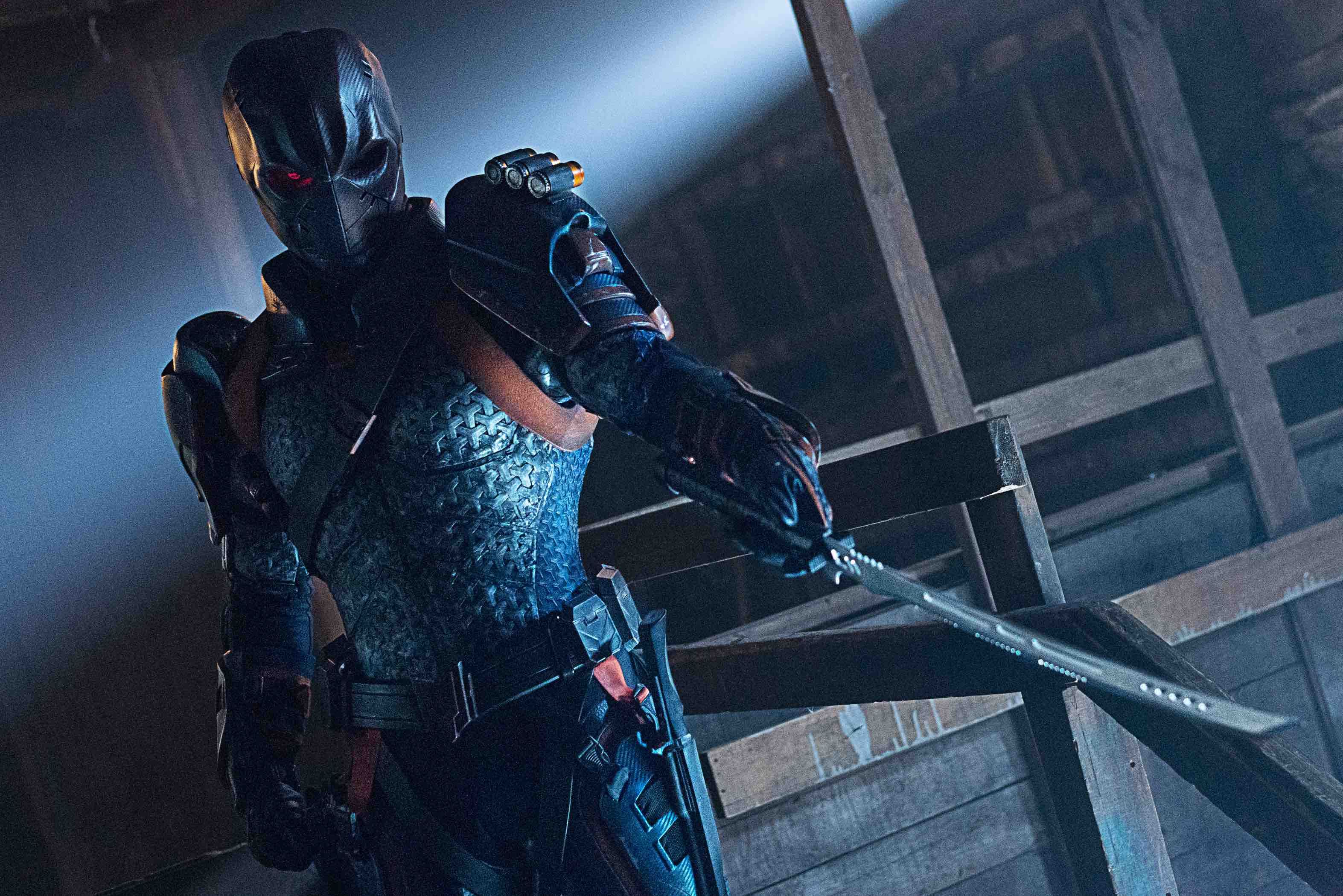 """Titans -- Ep. 205 -- """"Deathstroke"""" -- Photo Credit: Sven Frenzel / 2019 Warner Bros. Entertainment Inc. All Rights Reserved."""