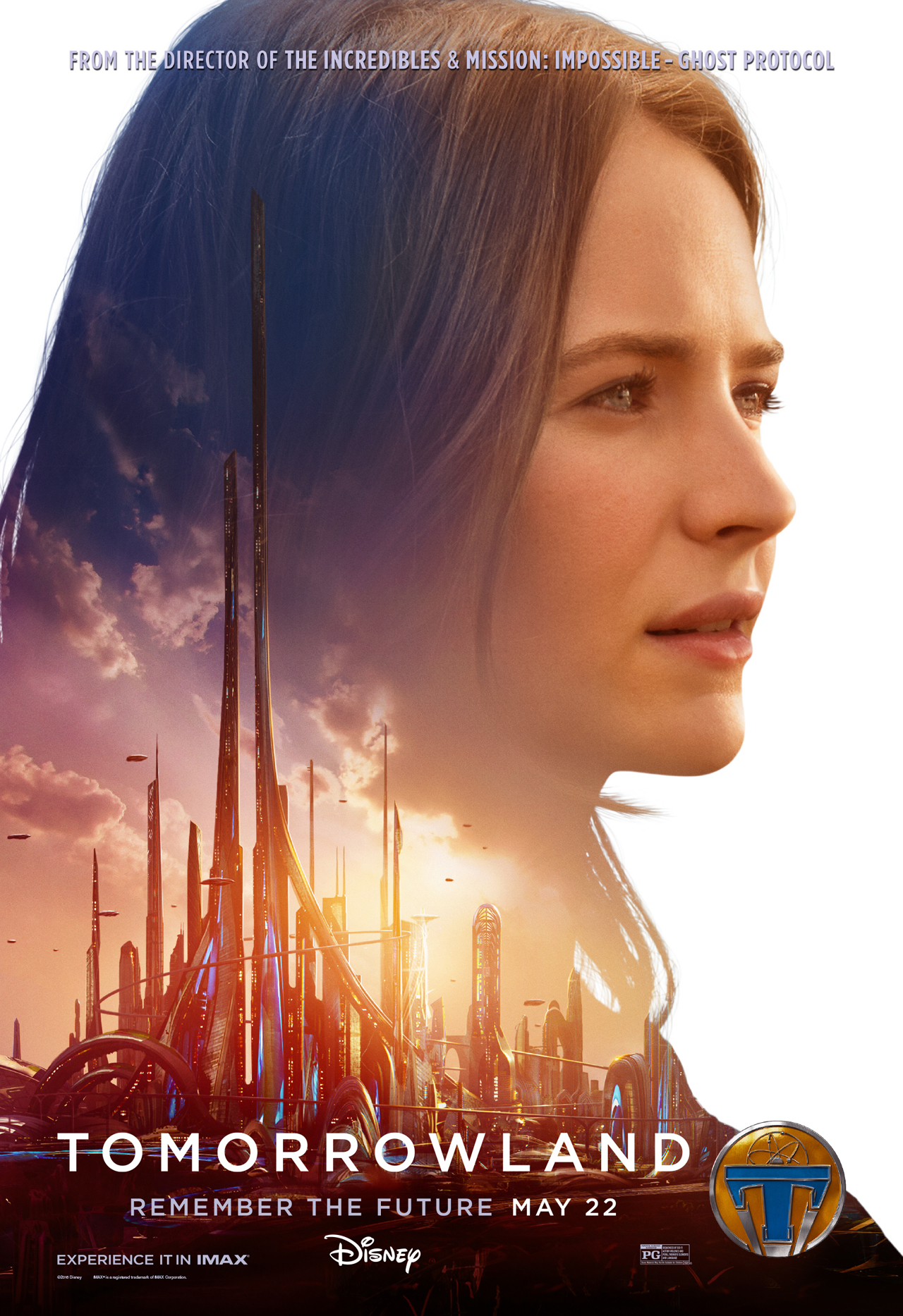 Tomorrowland Casey character poster
