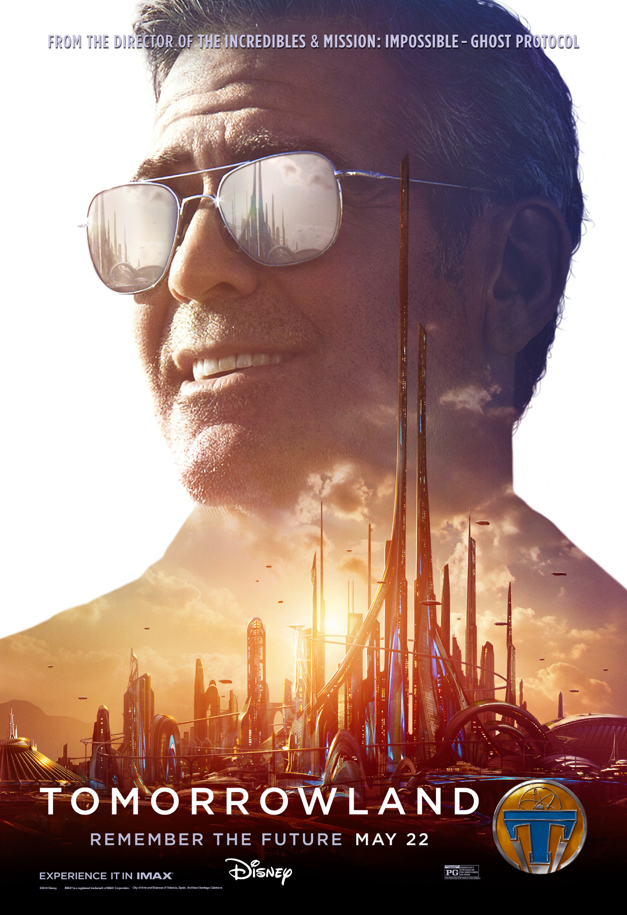 Tomorrowland Frank Character Poster