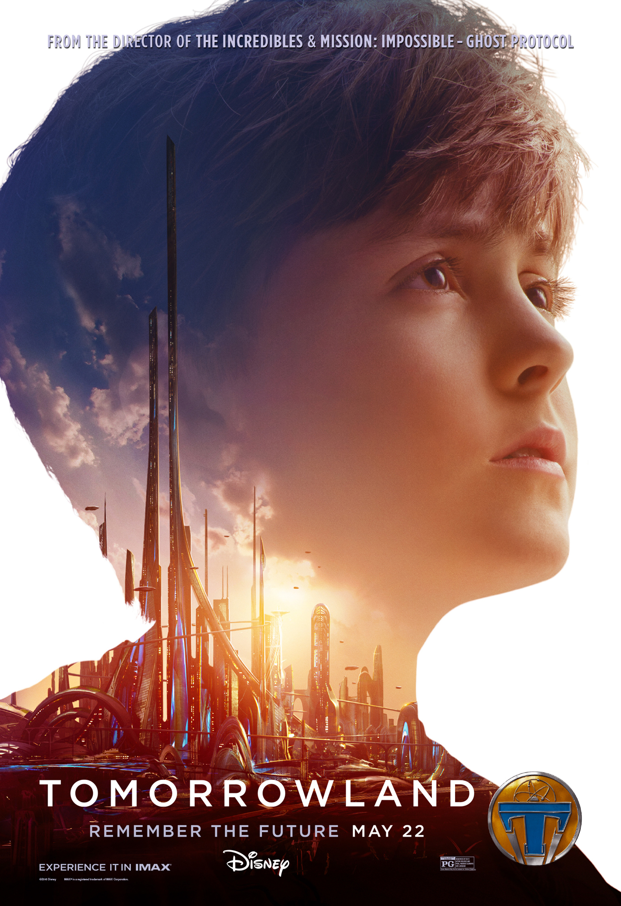 Tomorrowland Young Frank character poster