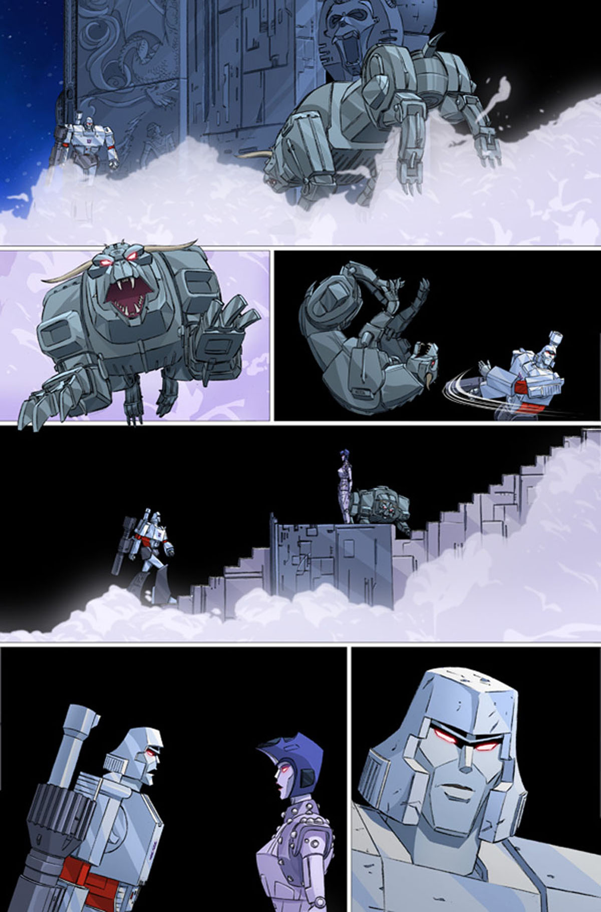 Transformers/Ghostbusters #1 page 1