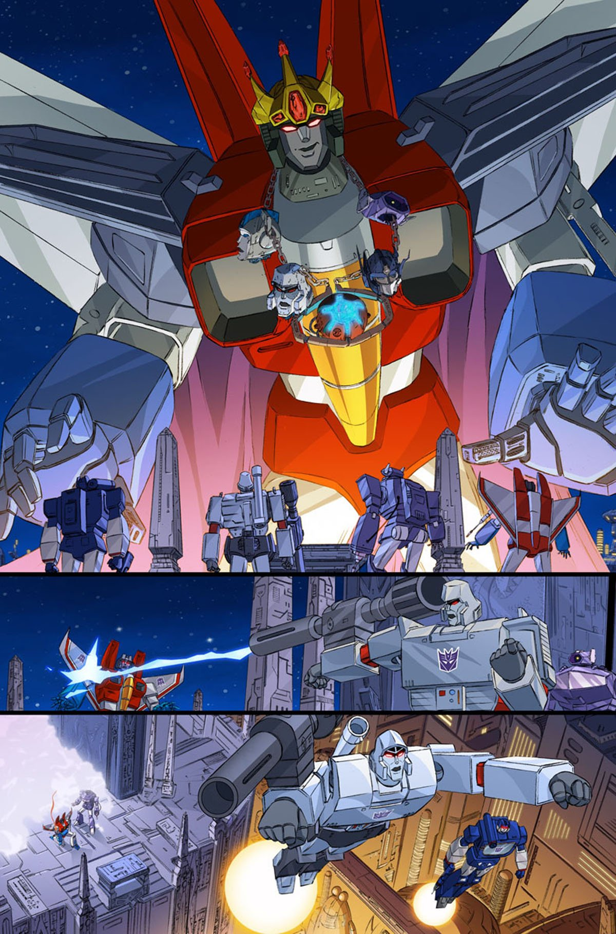 Transformers/Ghostbusters #1 page 3