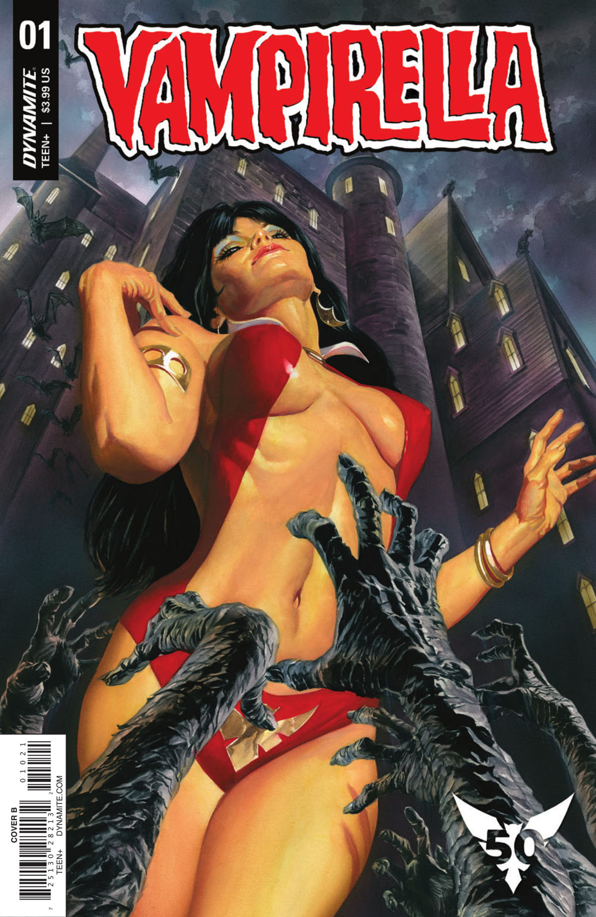 Vampirella #1 cover by Alex Ross