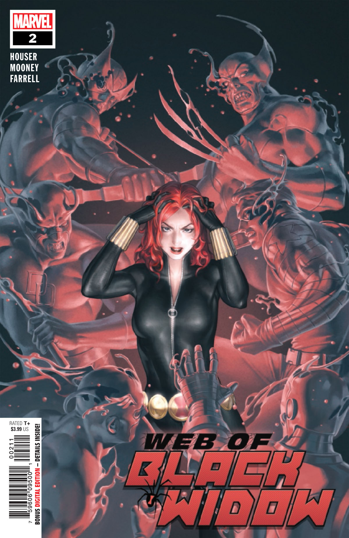 Web of Black Widow #2 cover