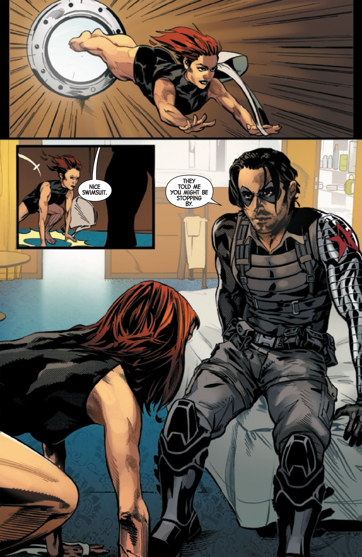 Web of Black Widow #2 page 6