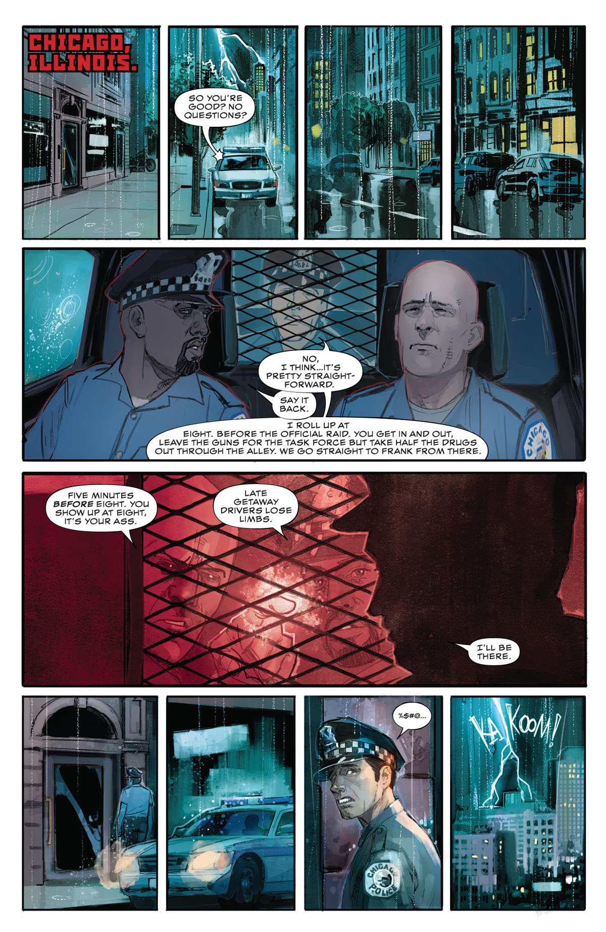Winter Soldier #1 page 1