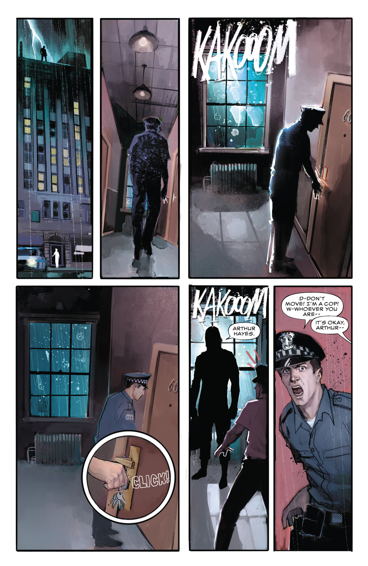 Winter Soldier #1 page 2