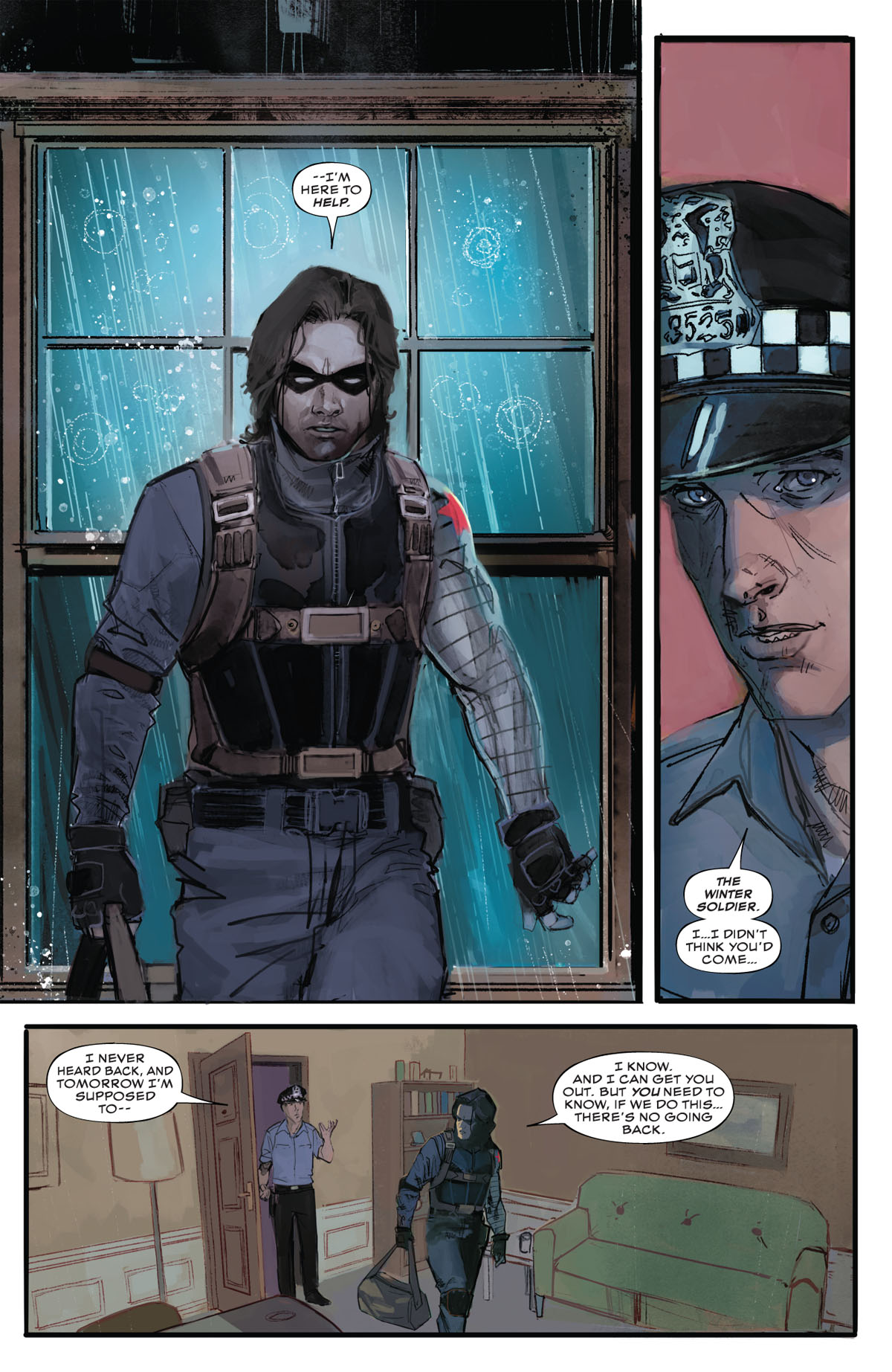 Winter Soldier #1 page 3
