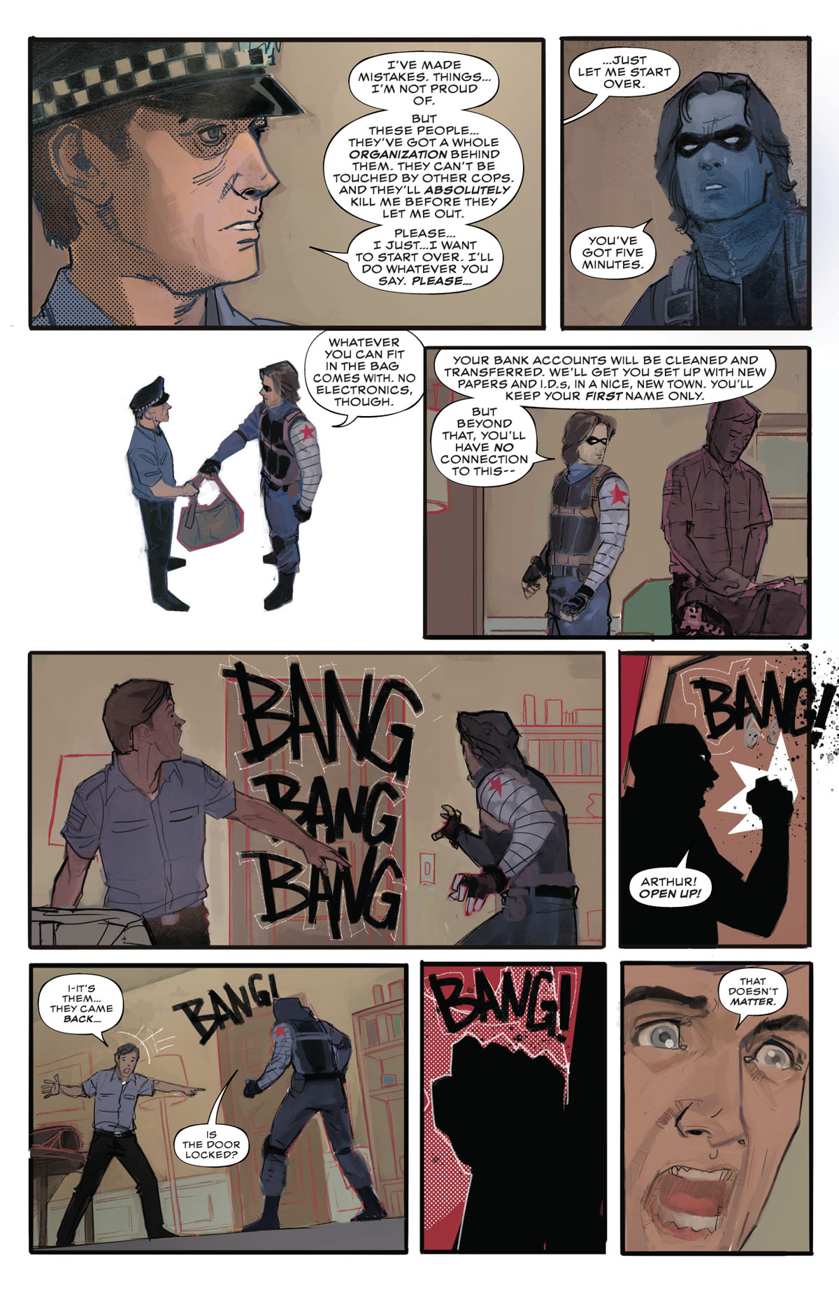 Winter Soldier #1 page 4