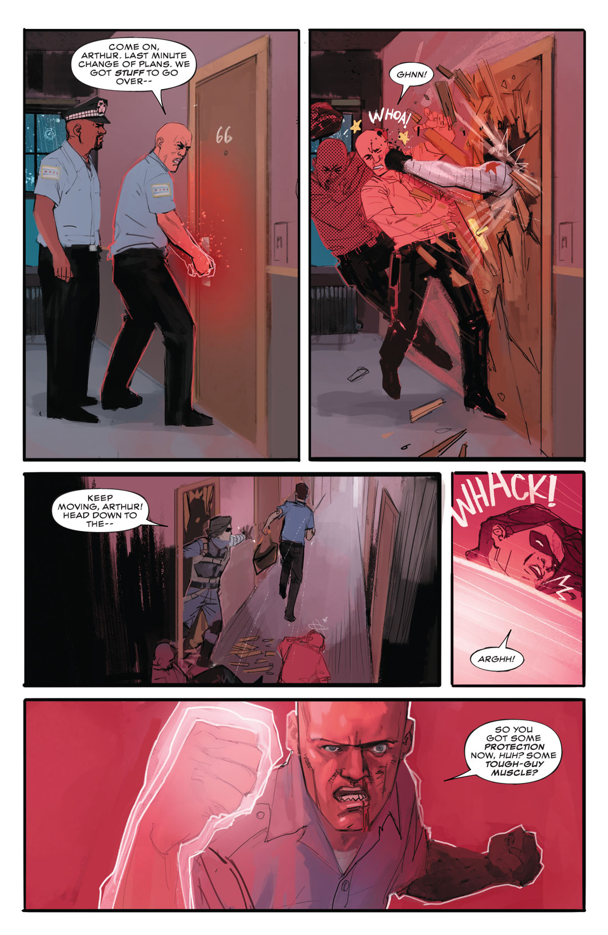 Winter Soldier #1 page 5