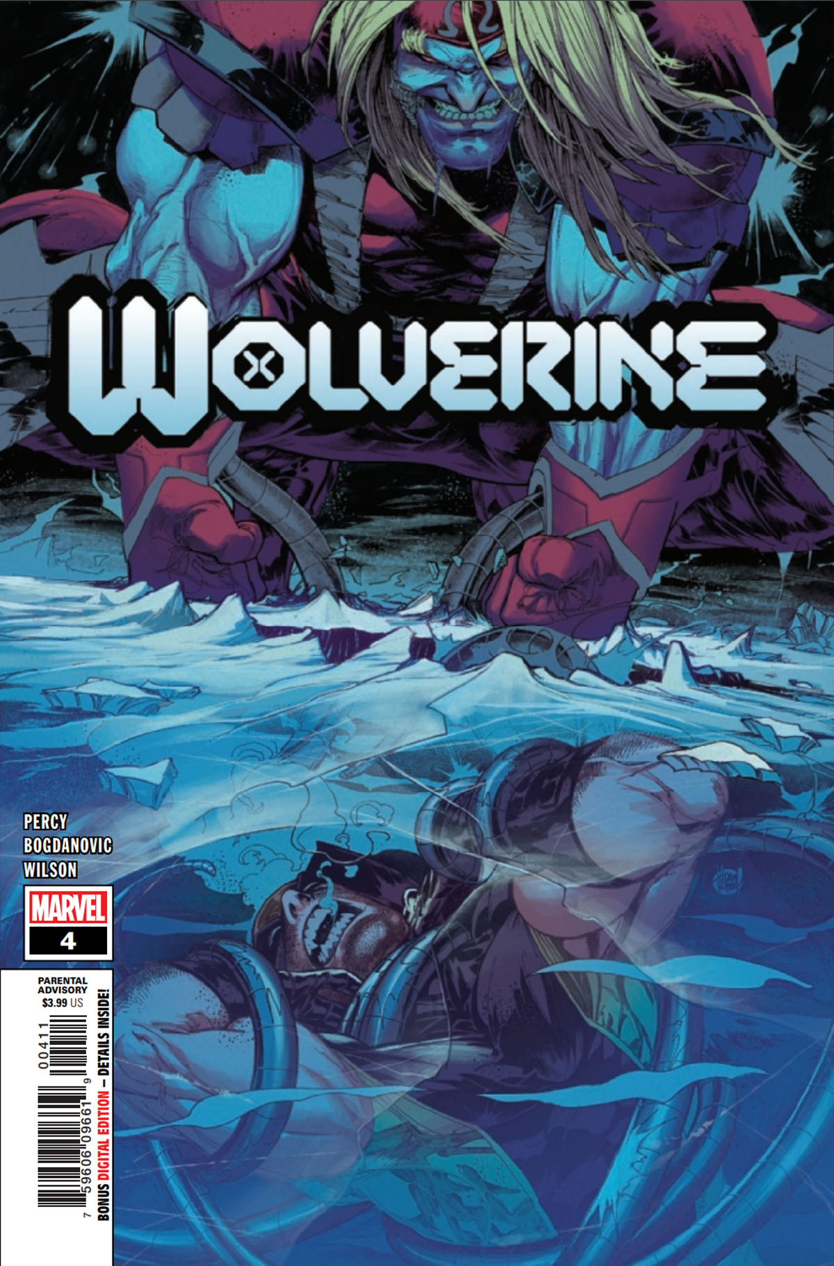 Wolverine #4 cover