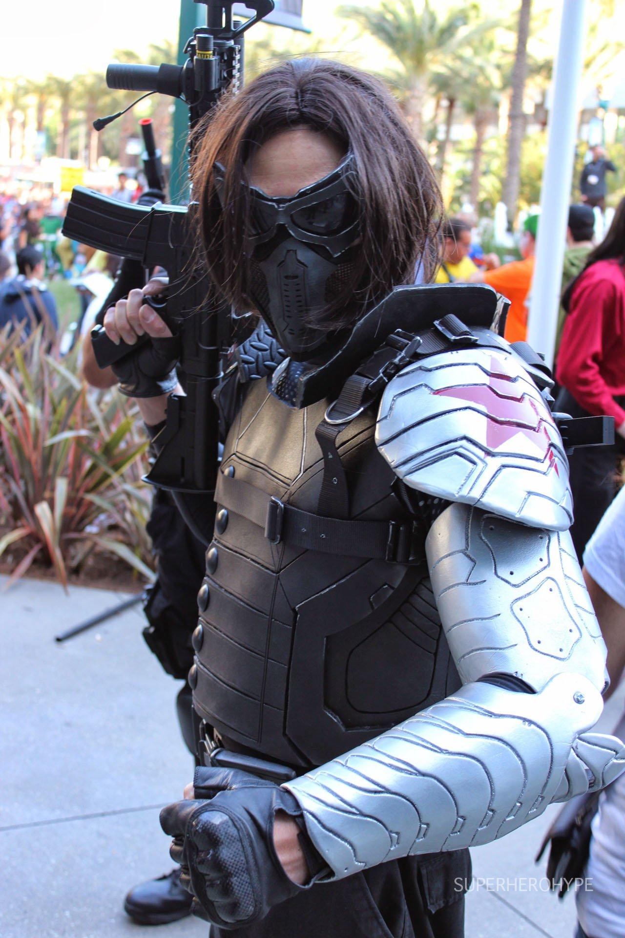 Winter Soldier CosplayWinter Soldier Cosplay Wondercon 2014