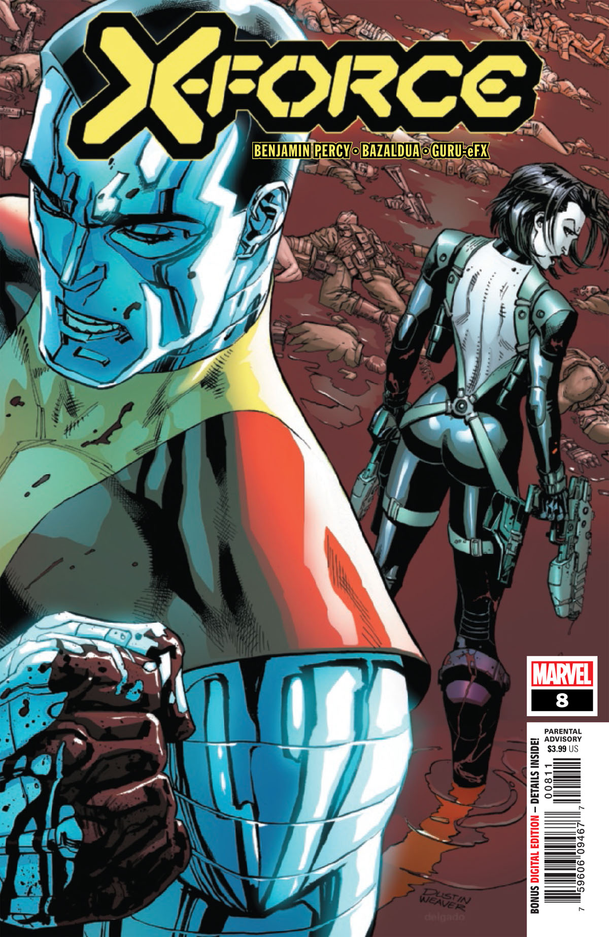 X-Force #8 cover