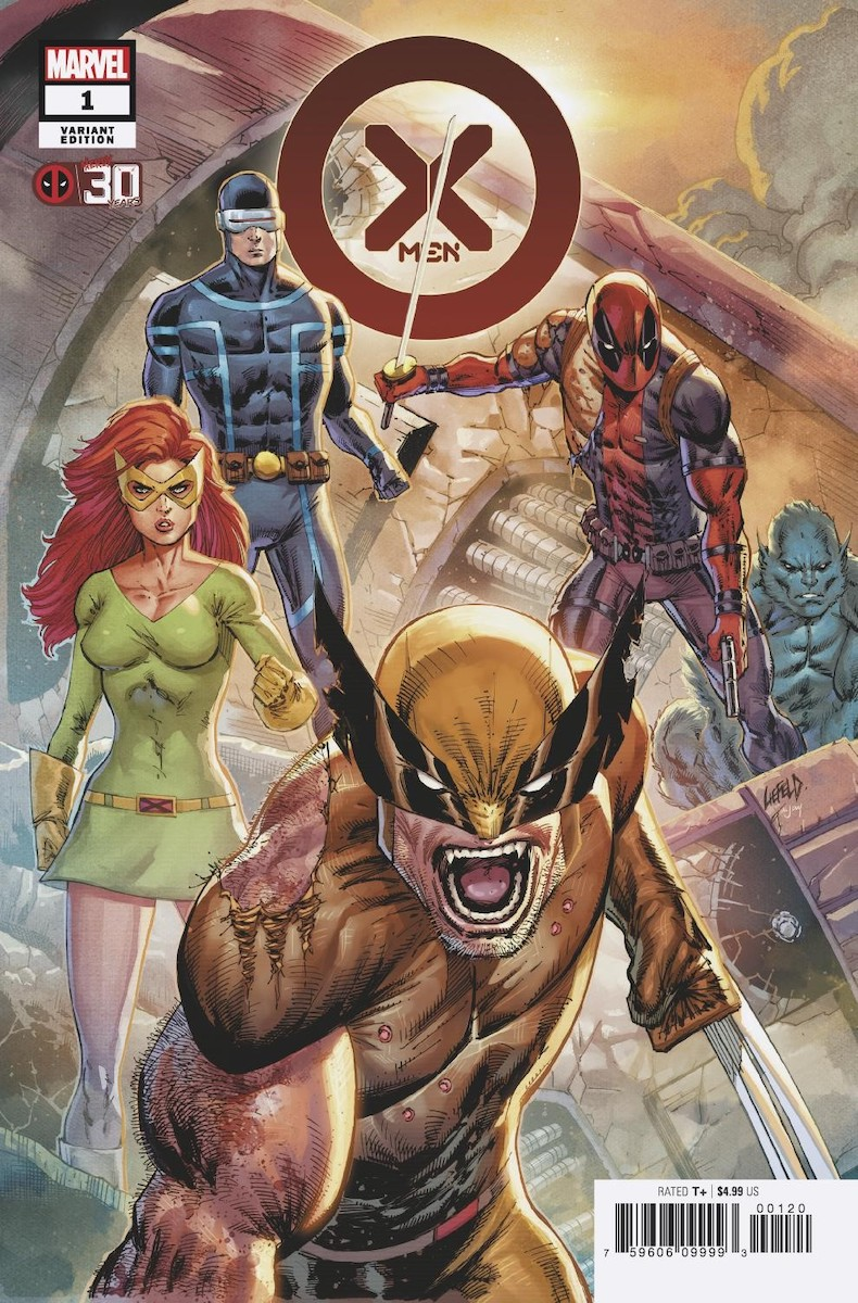 X-Men #1 Variant Cover by Rob Liefeld