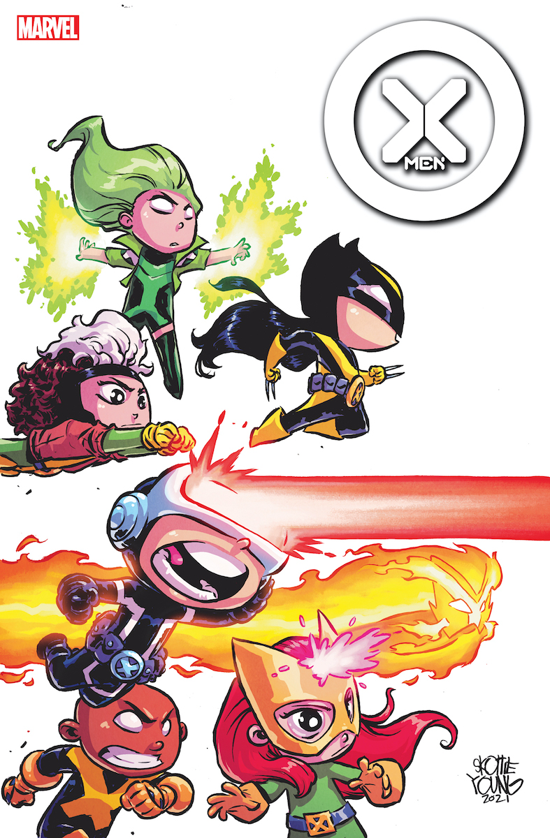 X-Men #1 Variant Cover by Skottie Young
