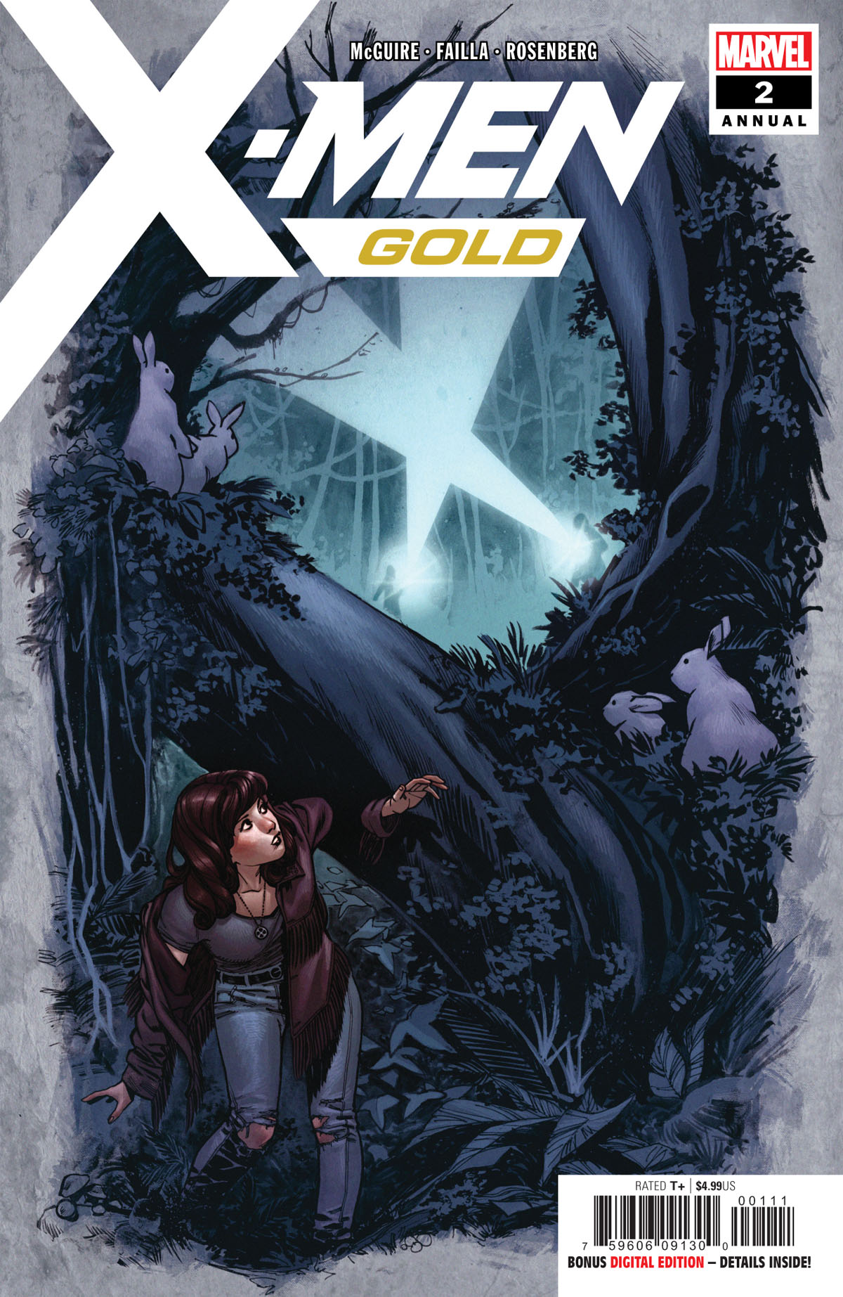 X-Men Gold Annual #2 cover