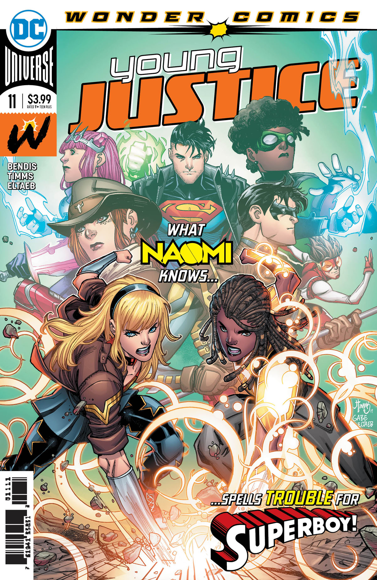 Young Justice #11 cover