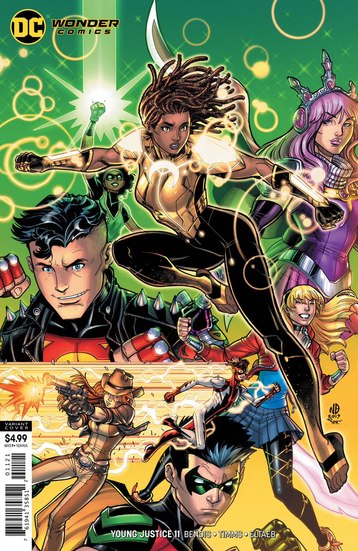 Young Justice #11 variant cover